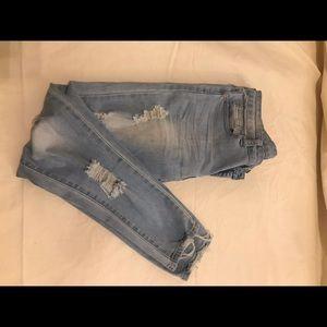 GOGO Jeans USA- Distressed skinny- size 7